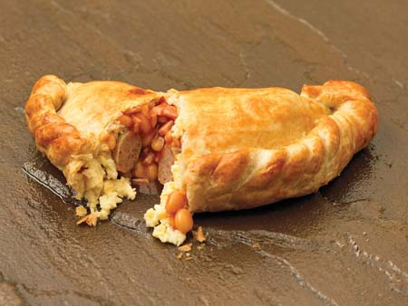 Crantock Bakery: Full English breakfast pasty